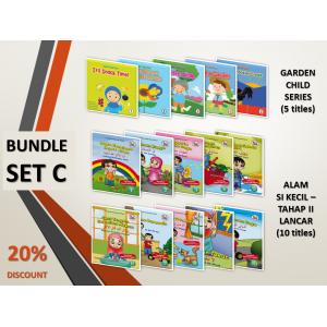 BUNDLE SET C: Garden Child Series + Siri Alam Si Kecil (Level 2 - Lancar)