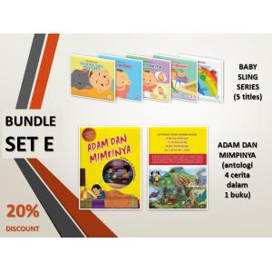 BUNDLE SET E: Baby Sling Series + Adam dan Mimpinya (Antologi 4 Cerita)