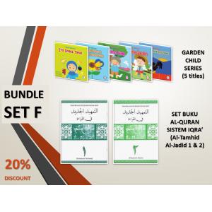 BUNDLE SET F: Garden Child Series + Al-Tamhid Al-Jadid (Book 1 & 2)