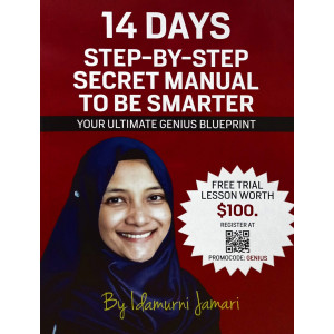 14 Days Step-By-Step Secret Manual To Be SMARTER