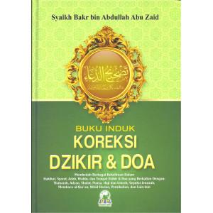 Buku Induk Koreksi Dzikir & Doa